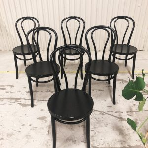 Öglan IKEA svart stol