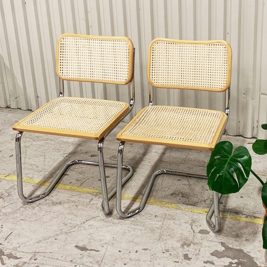 stolar i bauhausmodell