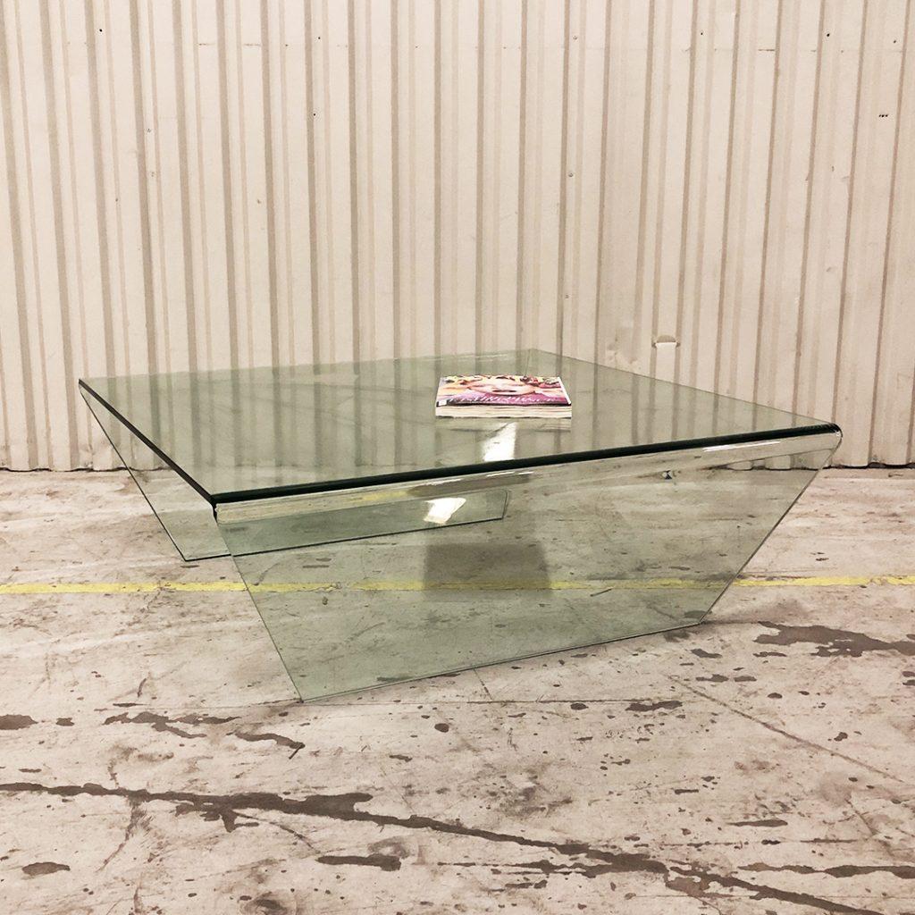 soffbord i glas från bolia