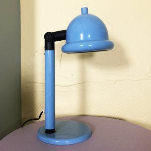 skrivbordslampa blå